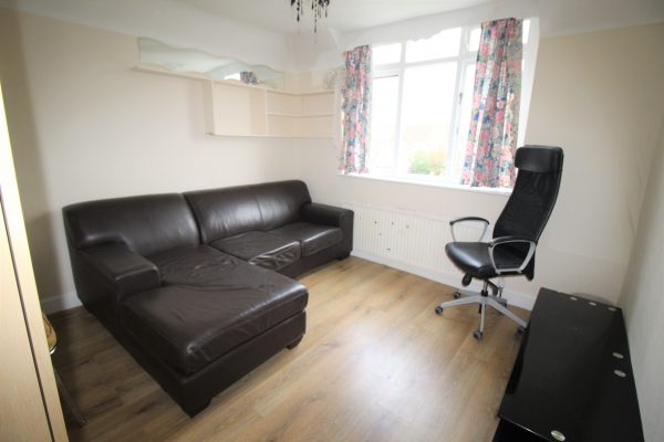 Two bedroom flat with an additional loft space